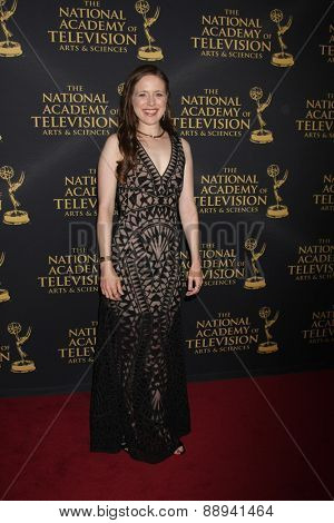 LOS ANGELES - FEB 24:  Jessica Carelton at the Daytime Emmy Creative Arts Awards 2015 at the Universal Hilton Hotel on April 24, 2015 in Los Angeles, CA