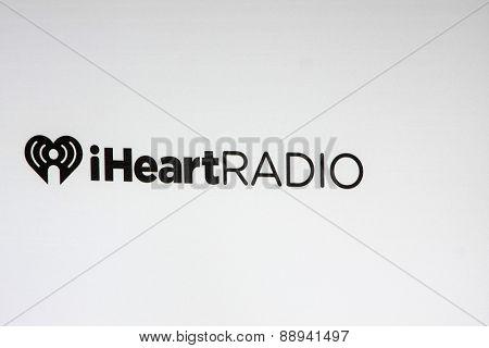 LOS ANGELES - FEB 23:  iHeart Radio Emblem at the