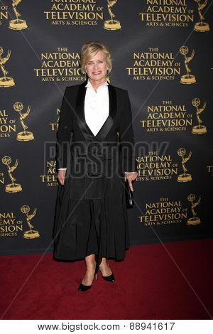 LOS ANGELES - FEB 24:  Mary Beth Evans at the Daytime Emmy Creative Arts Awards 2015 at the Universal Hilton Hotel on April 24, 2015 in Los Angeles, CA