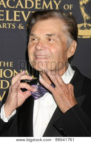 LOS ANGELES - FEB 24:  Fred Willard at the Daytime Emmy Creative Arts Awards 2015 at the Universal Hilton Hotel on April 24, 2015 in Los Angeles, CA