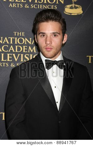 LOS ANGELES - FEB 24:  Casey Moss at the Daytime Emmy Creative Arts Awards 2015 at the Universal Hilton Hotel on April 24, 2015 in Los Angeles, CA