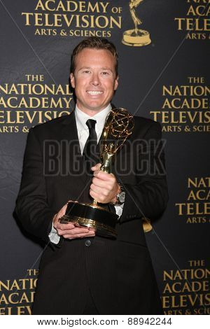 LOS ANGELES - FEB 24:  Mickey Cassidy at the Daytime Emmy Creative Arts Awards 2015 at the Universal Hilton Hotel on April 24, 2015 in Los Angeles, CA