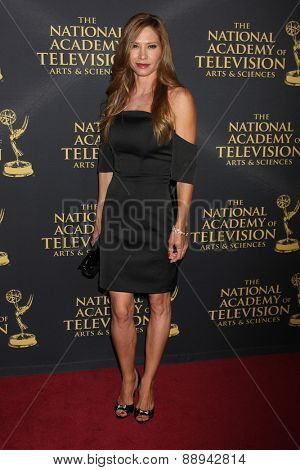 LOS ANGELES - FEB 24:  Sarah Brown at the Daytime Emmy Creative Arts Awards 2015 at the Universal Hilton Hotel on April 24, 2015 in Los Angeles, CA