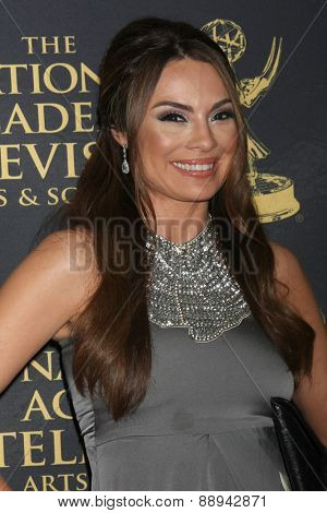 LOS ANGELES - FEB 24:  Lilly Melgar at the Daytime Emmy Creative Arts Awards 2015 at the Universal Hilton Hotel on April 24, 2015 in Los Angeles, CA