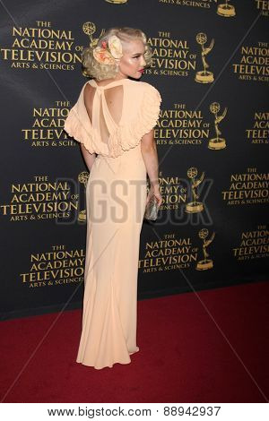 LOS ANGELES - FEB 24:  Addie Hamilton at the Daytime Emmy Creative Arts Awards 2015 at the Universal Hilton Hotel on April 24, 2015 in Los Angeles, CA