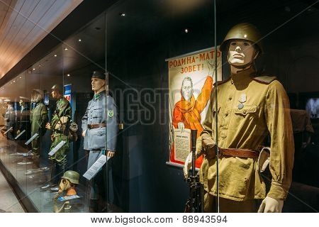 Exhibition at the Military Museums Manege On Fortress Island Of