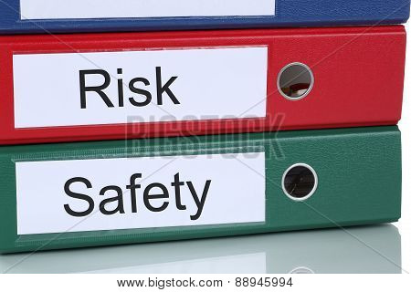 Risk And Safety Management Analysis In Company Business Concept