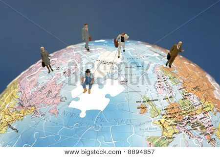 International teamwork