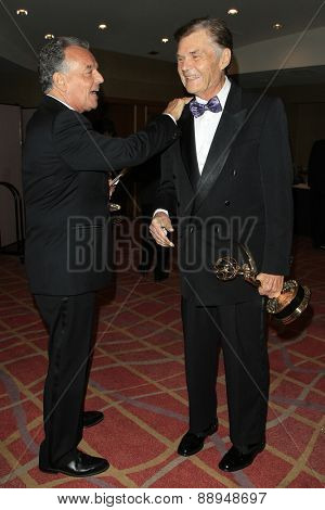 LOS ANGELES - APR 24: Ray Wise, Fred Willard at The 42nd Daytime Creative Arts Emmy Awards Gala at the Universal Hilton Hotel on April 24, 2015 in Los Angeles, California