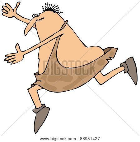 Caveman tripping