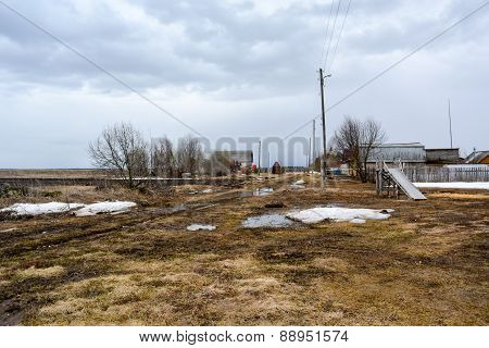 Early Spring in the Russian province