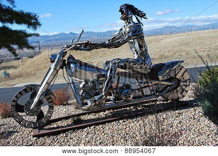 Freedom biker.