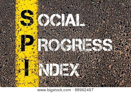 Business Acronym Spi As Social Progress Index