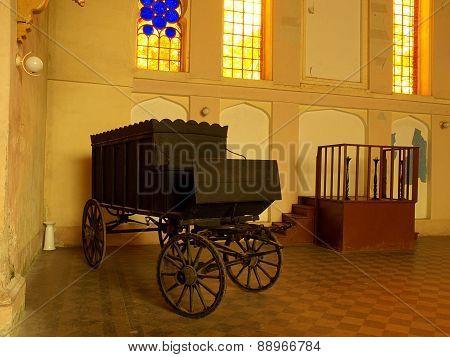Jewish hearse.