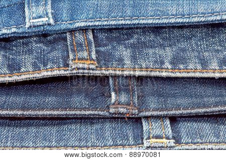The Upper Parts Of Jeans