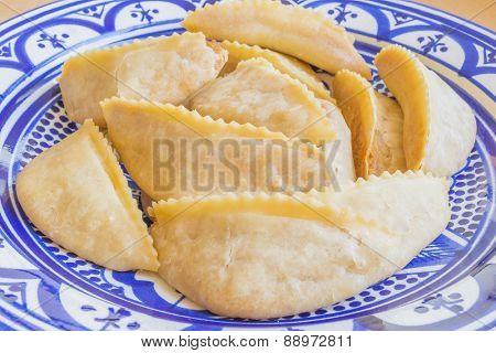 Kaab el Ghazal - Gazelle Horns - Traditional Moroccan cookies