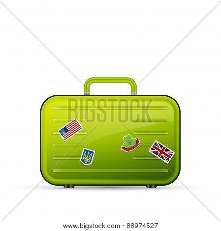 suitcase tourist