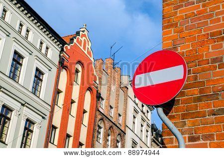Traffic Sign - Do Not Enter