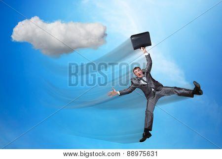 Falling in the sky