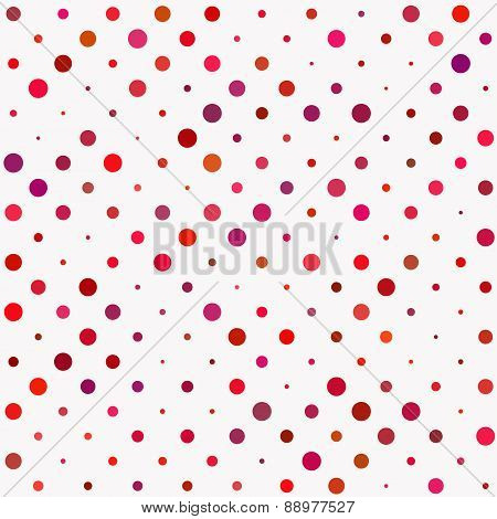 Red Polka Dot Pattern