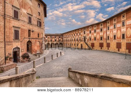 Ancient Seminary In San Miniato, Tuscany, Italy