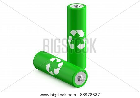 Batteries Recycle Size Aa