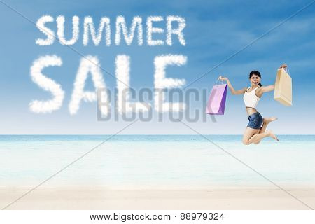Summer Sale Concept