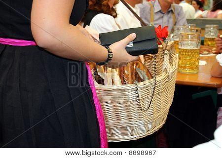 Oktoberst In Munich, Selling Prezels