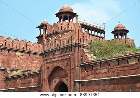 Red Fort. Delhi, India