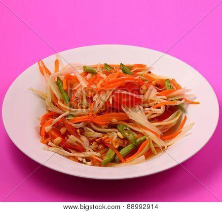 Spicy Papaya Salad