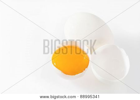 Broken White Eggs