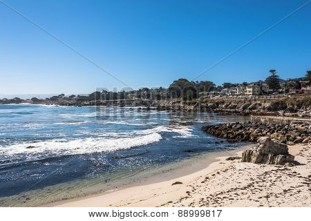 The Pacific Grove coast, Monterey