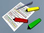 pic of marker pen  - Yellow - JPG