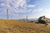 pic of generator  - Generators on a wind power plant - JPG