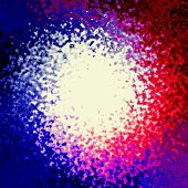 image of amoeba  - Crazy abstract melted colorful shapes as wallpaper - JPG