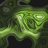 picture of amoeba  - Crazy abstract melted colorful shapes as wallpaper - JPG