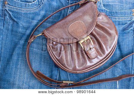Handbag And Jeans