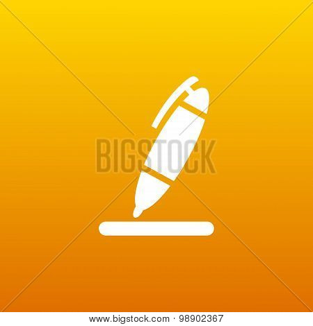 pen icon tool interface sign symbol graphic