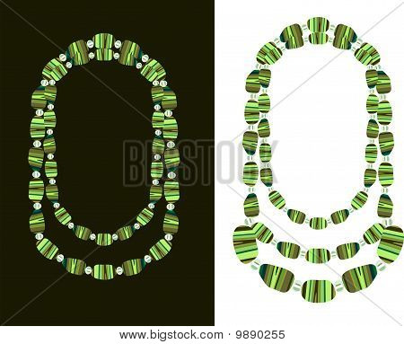 Beads Of The Natural Gemstone