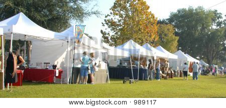 Fall Craft Show Tents