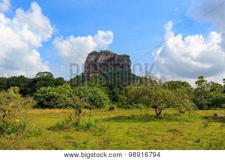Sigiriya Castle on Sri Lanka
