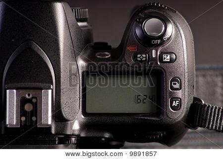Digital Slr Camera Info Display Screen