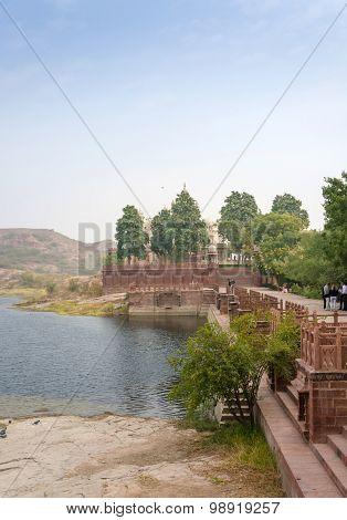 Jaswant Thada Memorial In Jodhpur