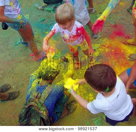 Color Fest September 2014 In Nakhodka.