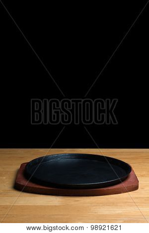 Cast Iron Sizzling Steak Plate