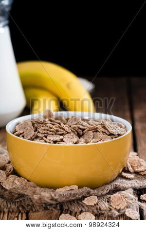 Bowl With Wholemeal Cornflakes