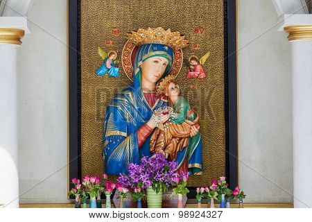 The Blessed Virgin Mary & Angle