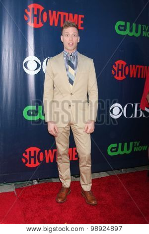 LOS ANGELES - AUG 10:  Barrett Foa at the CBS TCA Summer 2015 Party at the Pacific Design Center on August 10, 2015 in West Hollywood, CA