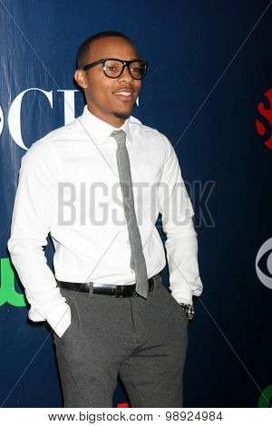 LOS ANGELES - AUG 10:  Shad Moss, aka Bow Wow at the CBS TCA Summer 2015 Party at the Pacific Design Center on August 10, 2015 in West Hollywood, CA