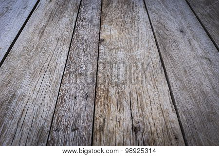 Old Wood Plank Weathered Background